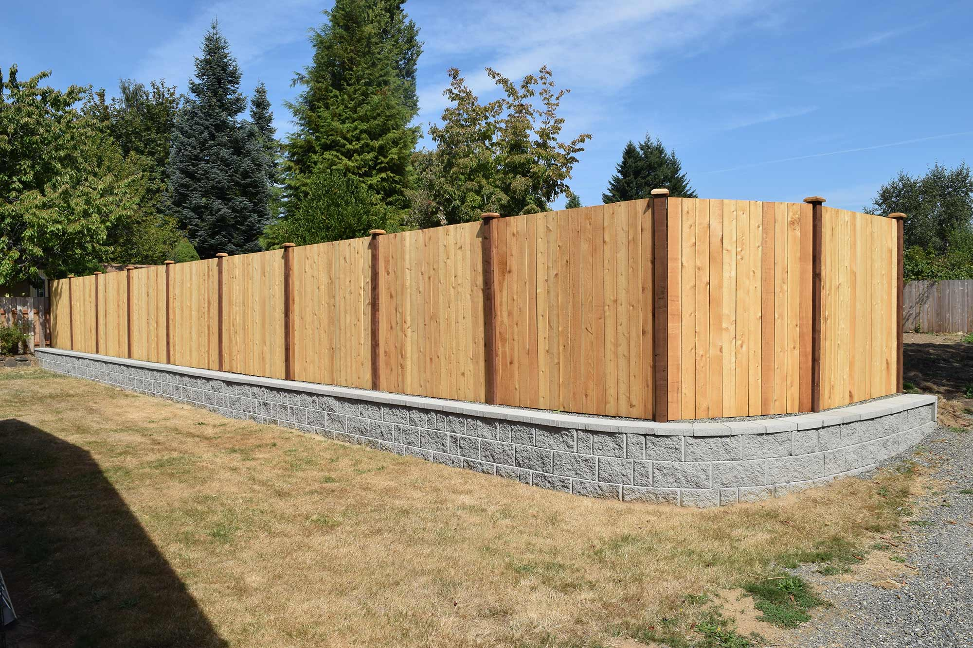 4 Wood Fencing Unlimited Fencing